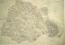 Part of Staffordshire Containing 100 Square Miles Surveyed by Mr Field and Drawn by Mr Stevens 1817